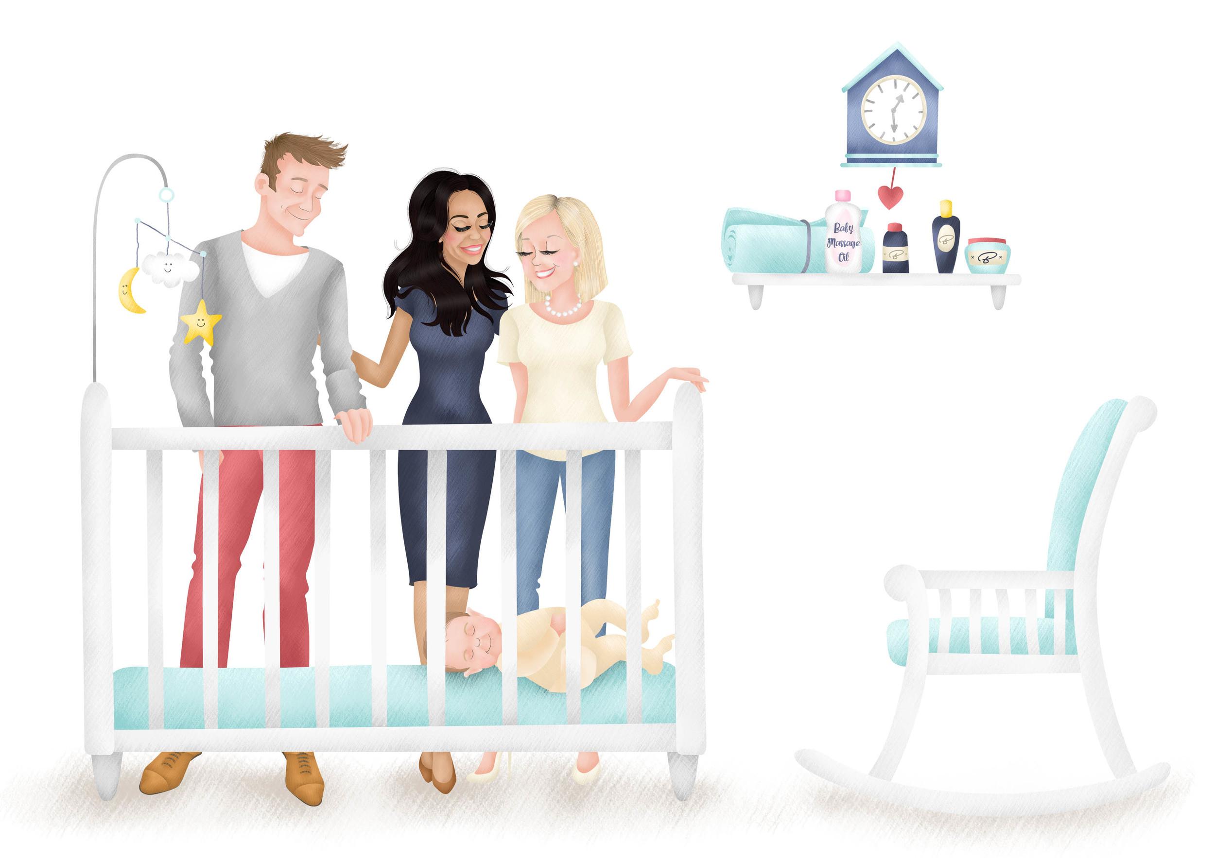 The Baby Aim - Concierge Illustration