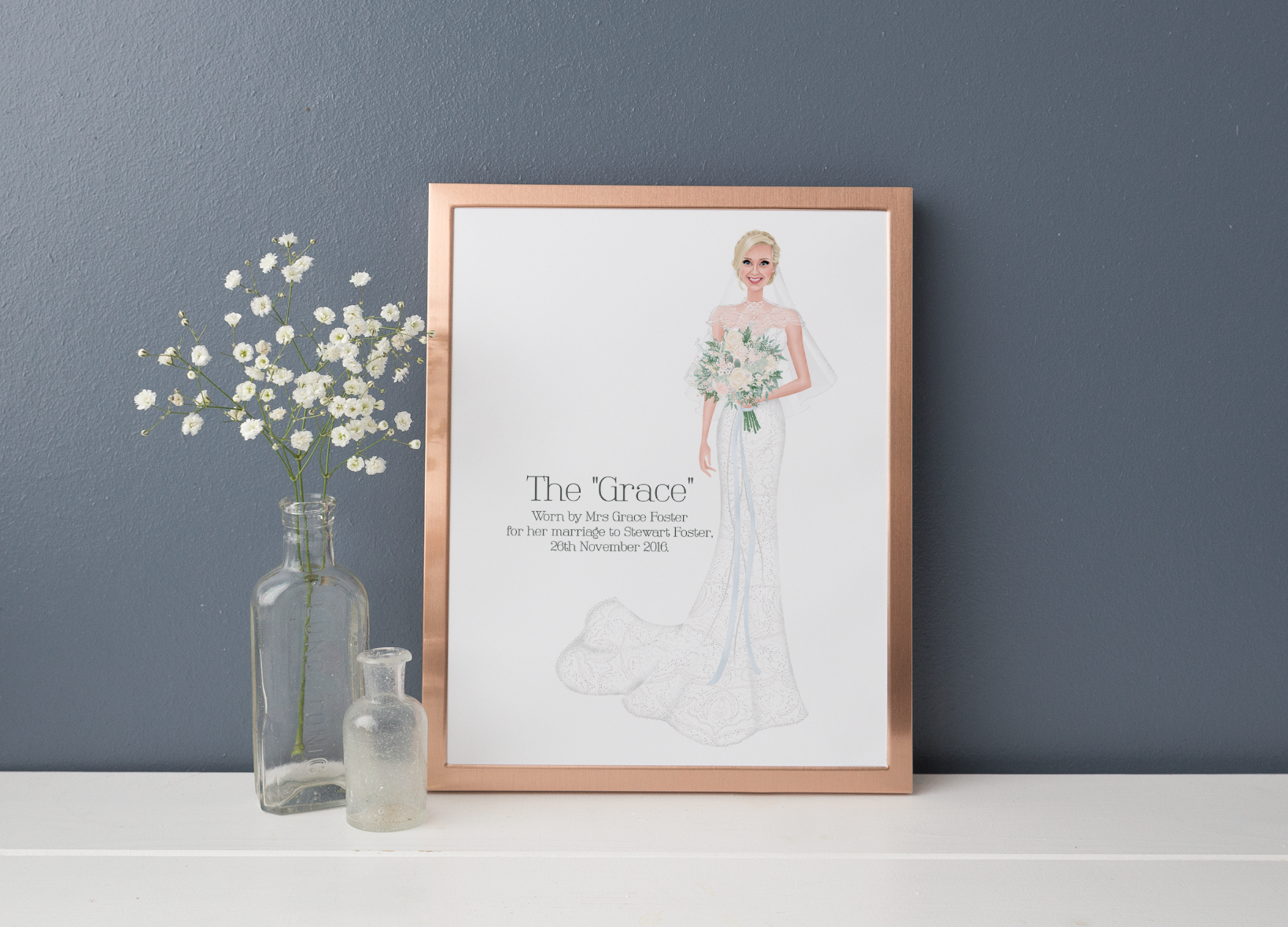 Hannah Weeks Illustration  - Bride Portrait.png