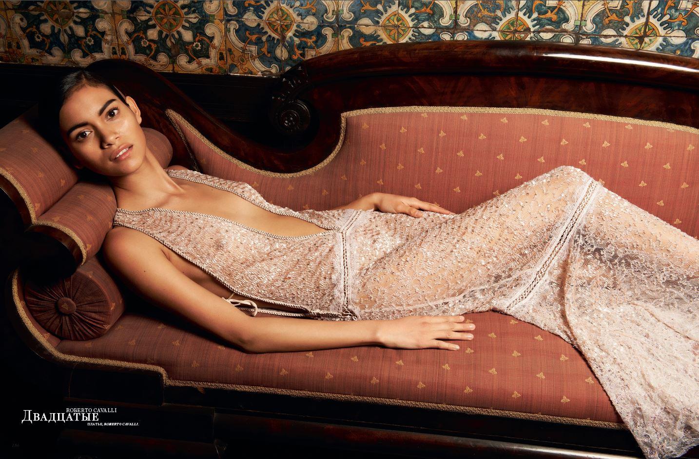 Juana Burga for Harpers Bazaar - Russia