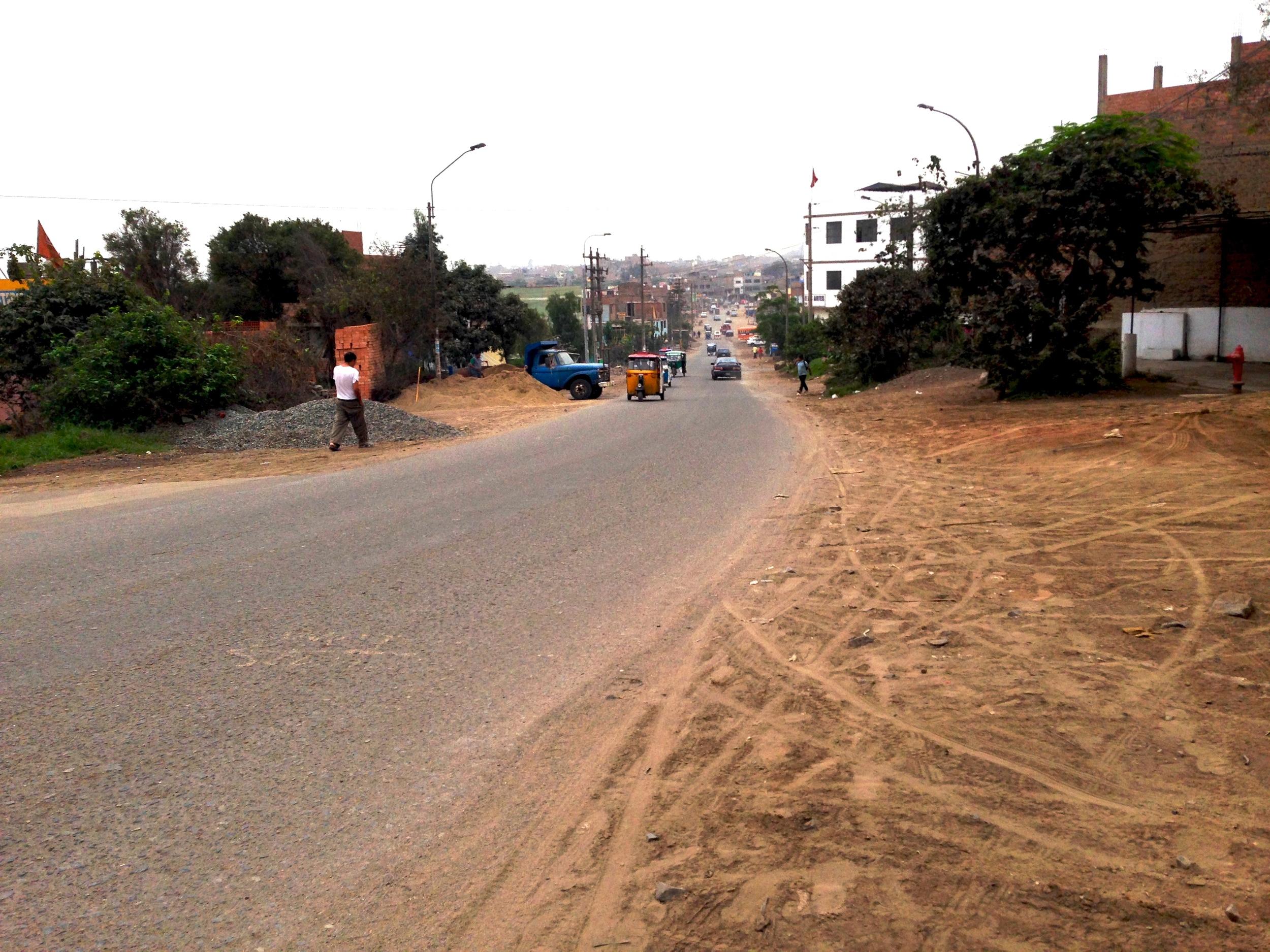 Comas. Banlieue du cône Nord de Lima