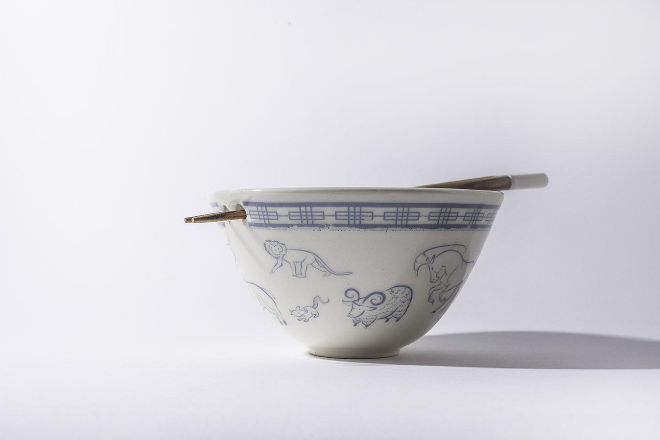 Zodiac Large Bowl
