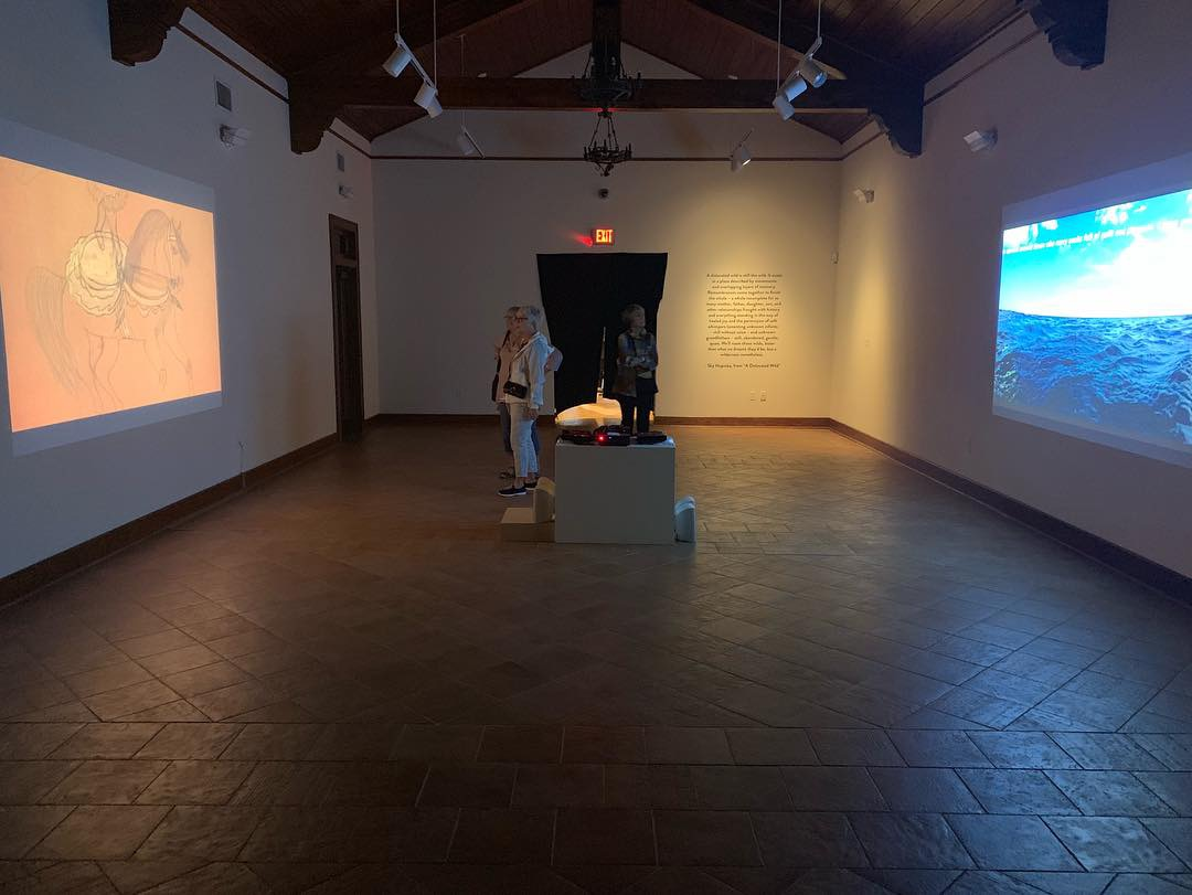 Installation at The Crisp-Ellert Art Museum, November 2nd - December 8th, 2018