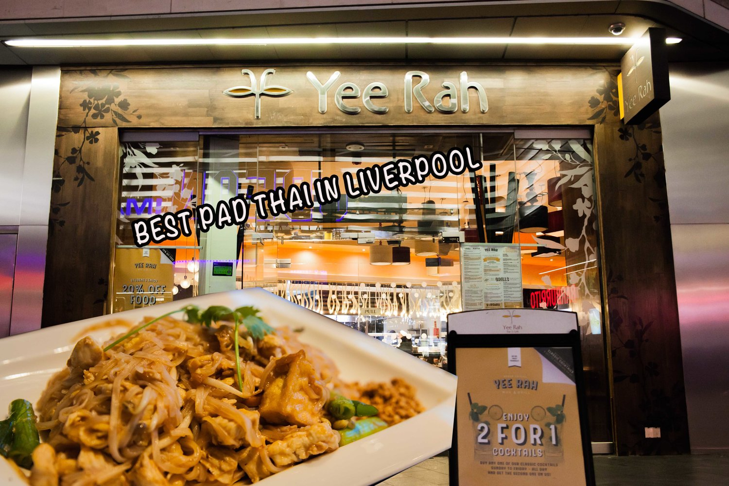 Yee Rah - Yee Rah In Liverpool ONE invited me to come in and do a review of their food, drinks & atmosphere.