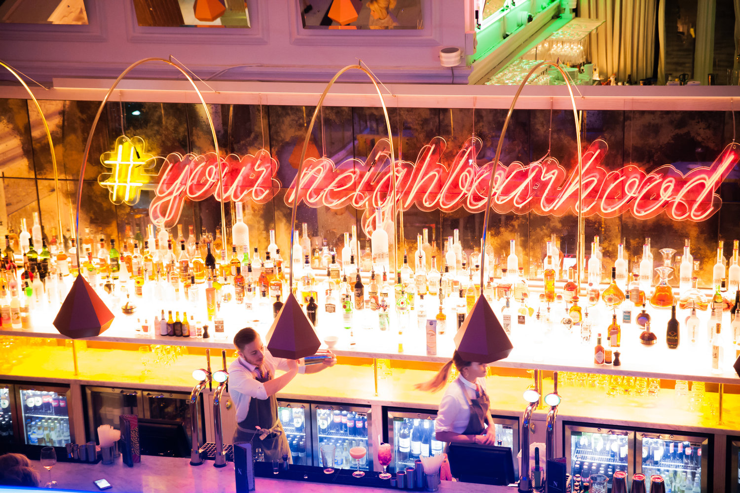 The Neighbourhood - The Neighbourhood offers a variety of authentic dishes, desserts & drinks