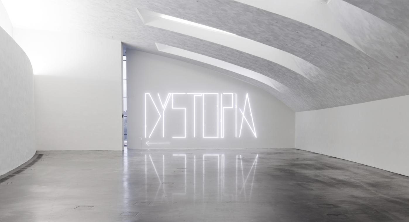 Dystopia Neon Sign