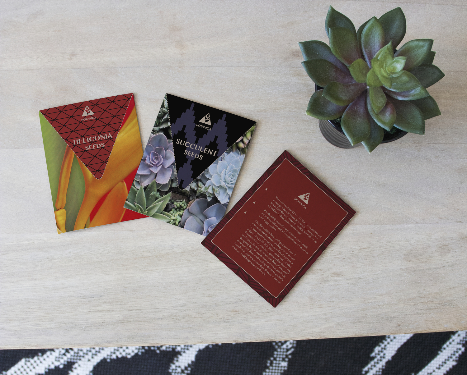 Botanica Seed Packets