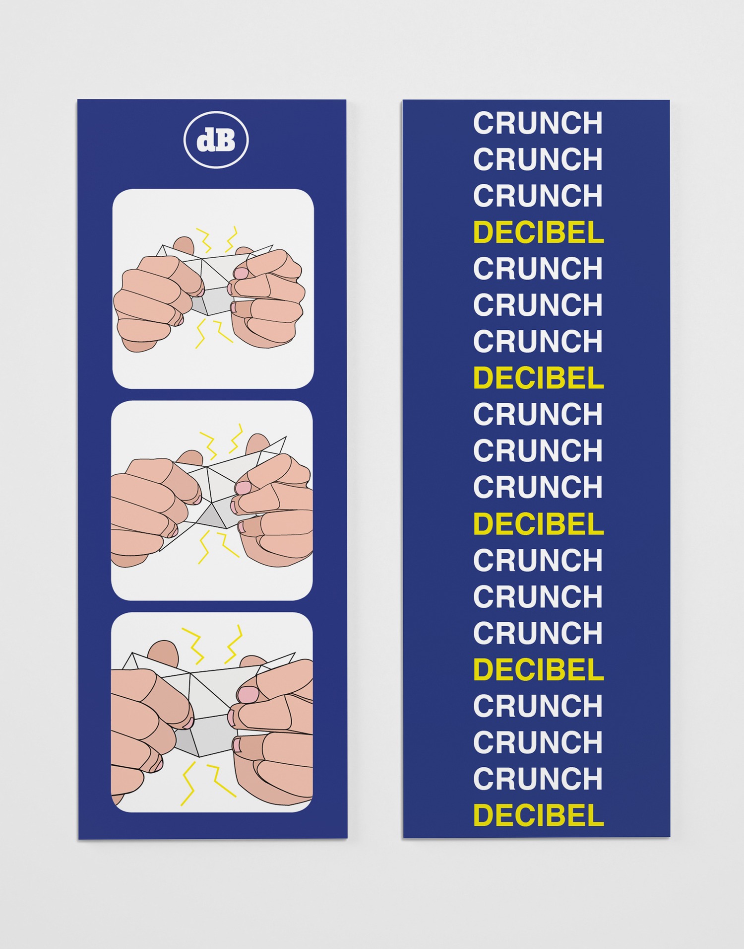 Decibel Crunch Bookmarks