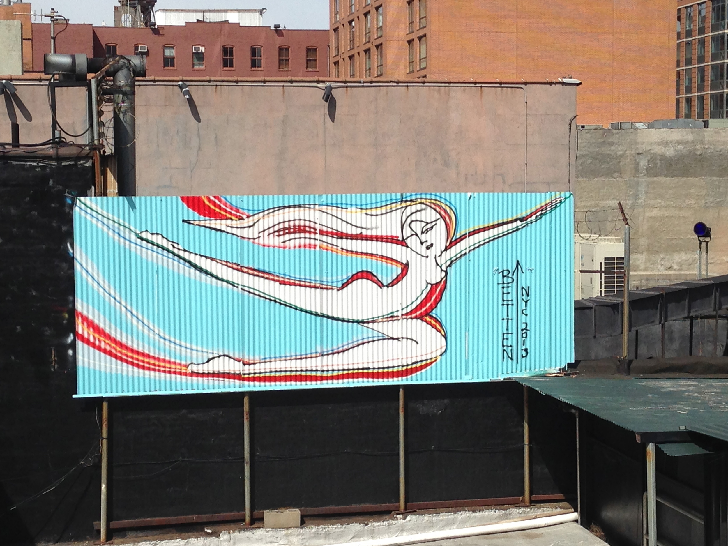 Public art from the High Line