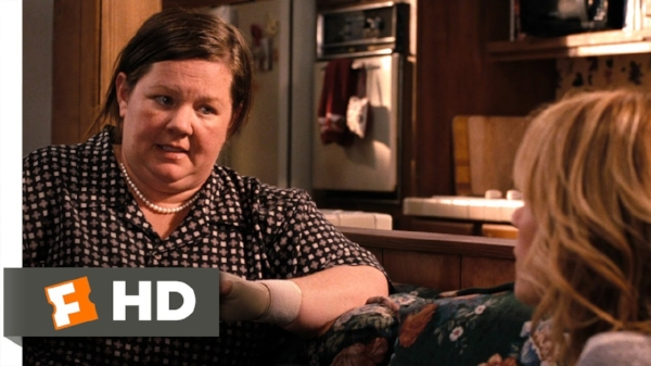 "Film clip from ""Bridesmaids""  here"