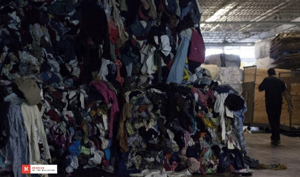"""Photo by Jared T. Miller for Newsweek. """"Fast fashion is creating an environmental crisis"""" by Alden Wicker"""
