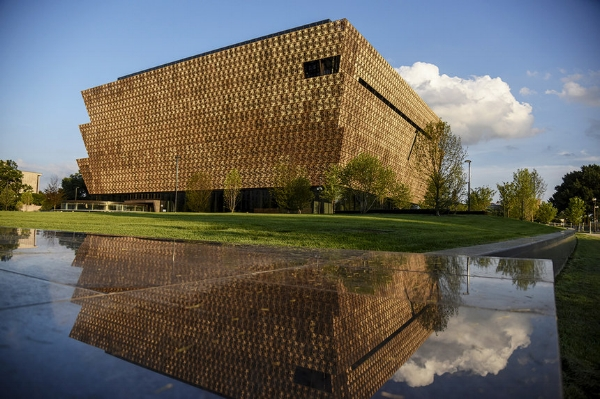 Photo from the Washington Post/Getty images of the African American History and Culture Museum