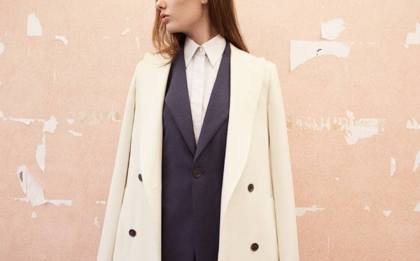 A Sauvage made to measure womenswear. Photo by Amber Rowlands.