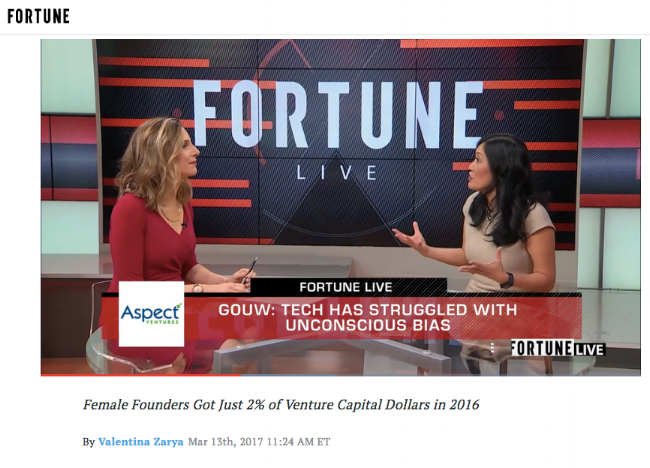 """""""Venture Capital's Funding Gender Gap Is Actually Getting Worse"""" link to article here ."""