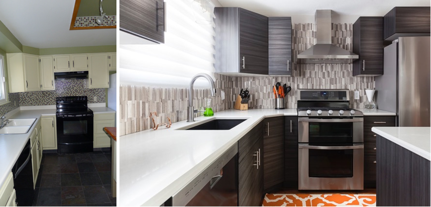 Before Kitchen. After Kitchen.