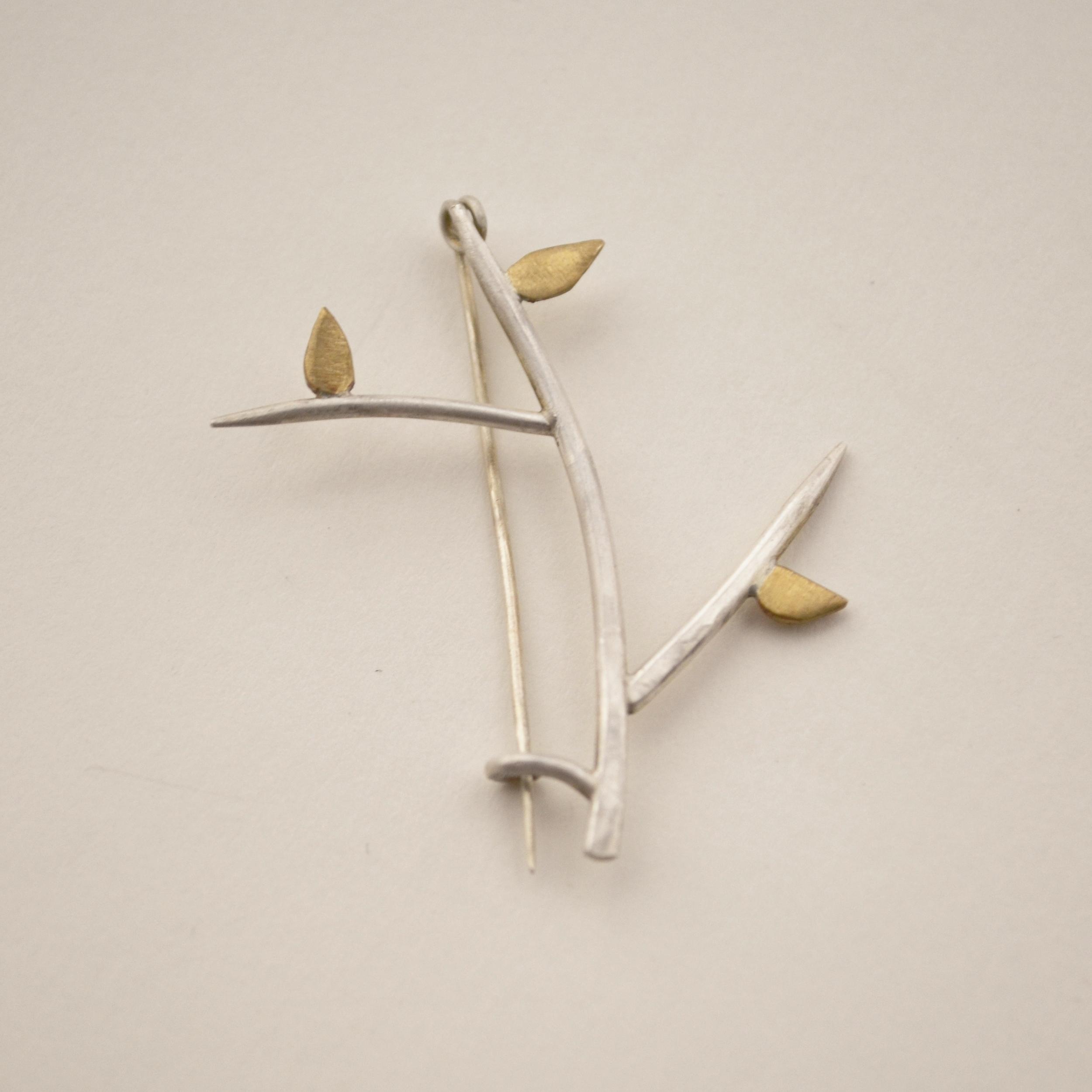 Branch Brooch #2