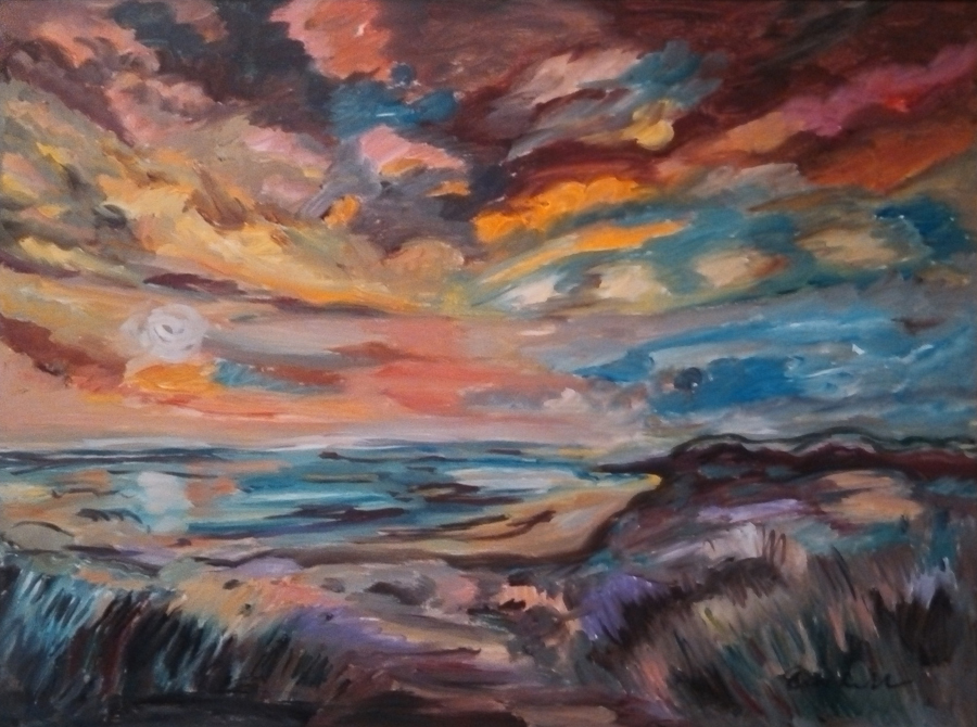 Sunset Seaside #2