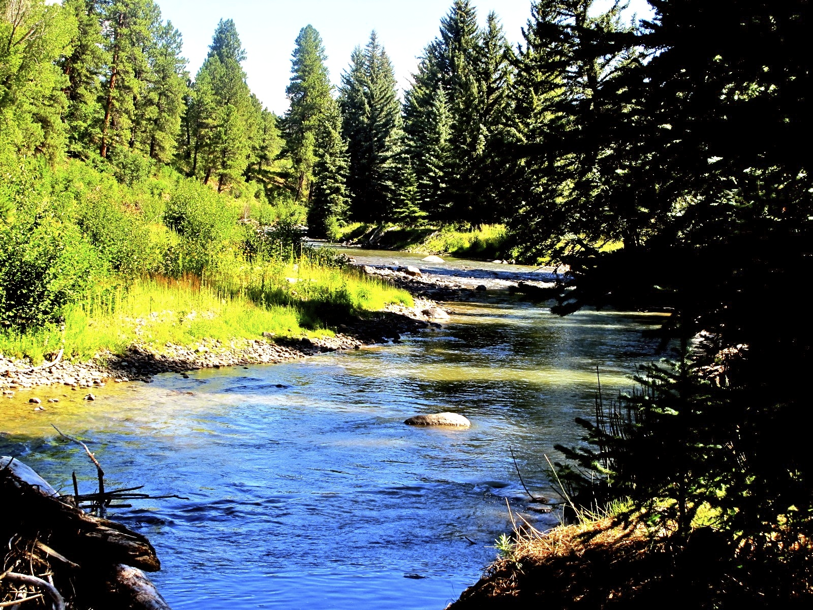 Colorado Fishing Land