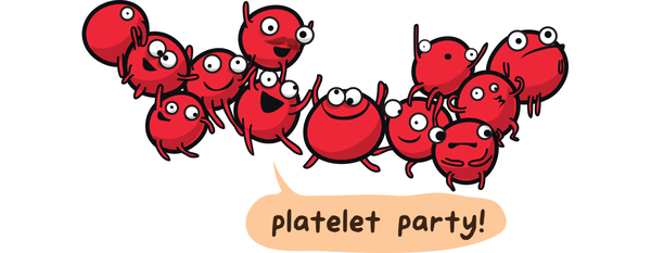 Yeahhhhahhhheahhhhh! Platelet party in the USA. ( Image )