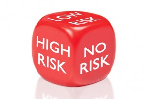 We should at least  try  to do a smidge better than rolling the risk die. ( Image )