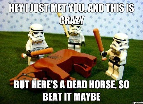 We all know how Steph feels about this metaphor…but I'm hoping I can get away with it because Star Wars. ( Image )