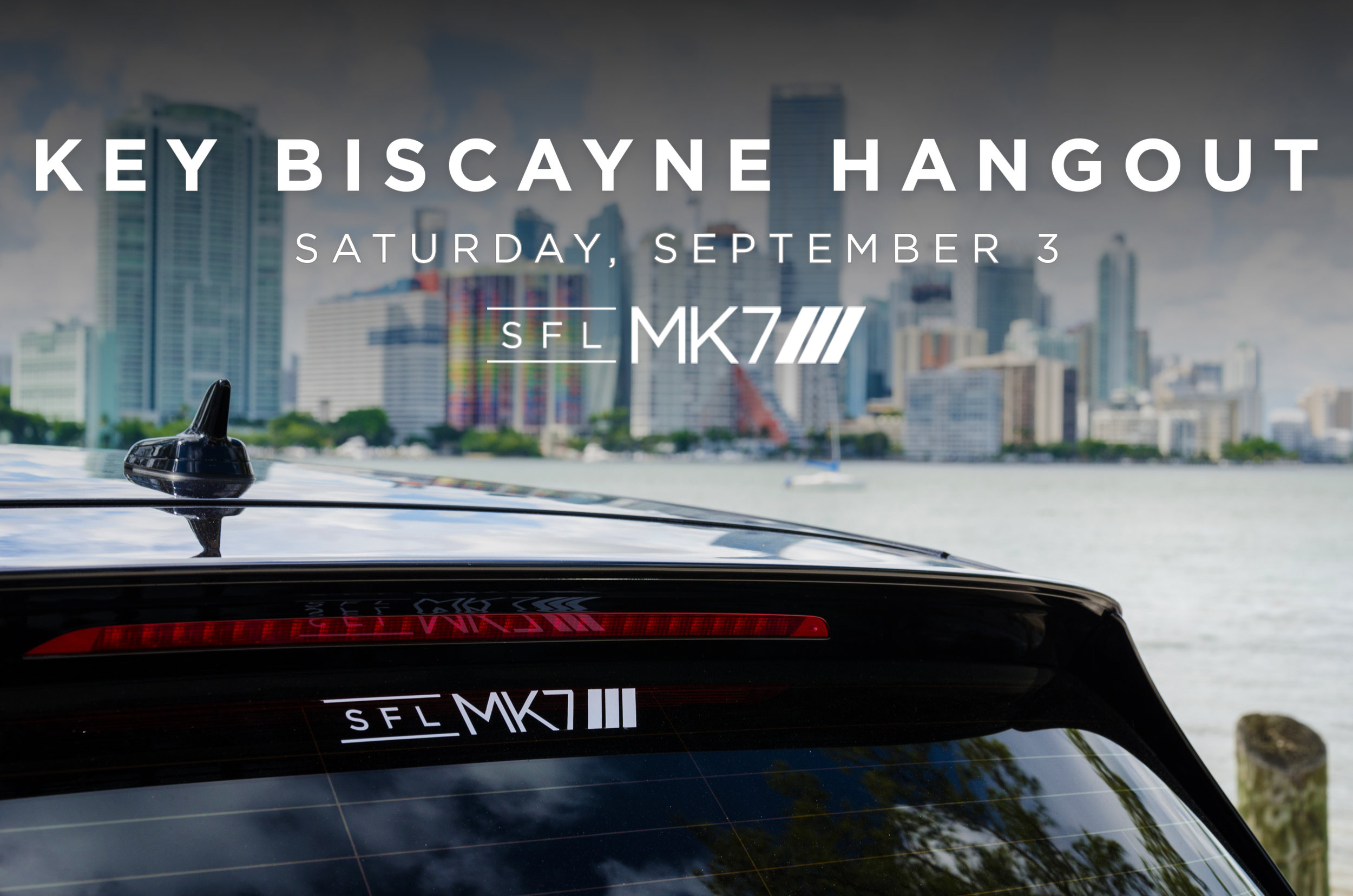 One of our SFL MK7 members has been kind enough to organize a meet and hangout at his restaurant on Key Biscayne: Whiskey Joe's.   Come out and enjoy some awesome cars, good food, and great people - all at the perfect spot right on Key Biscayne.