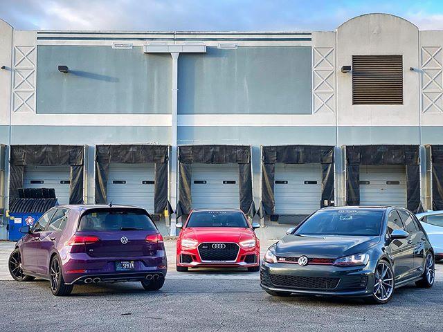 MQB Monday.  #SFLMK7 | #SFLVW  #MK7 #GTI #GOLFR #GTIMK7 #MK7GTI #MK7R #SpektrumVW #Audi #RS3 #MTMUSA