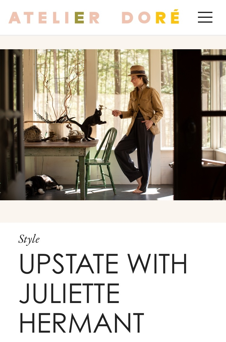 Atelier Doré - Upstate with Juliette Hermant