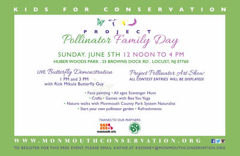 Pollinator Family Day at Huber Woods - June 5th