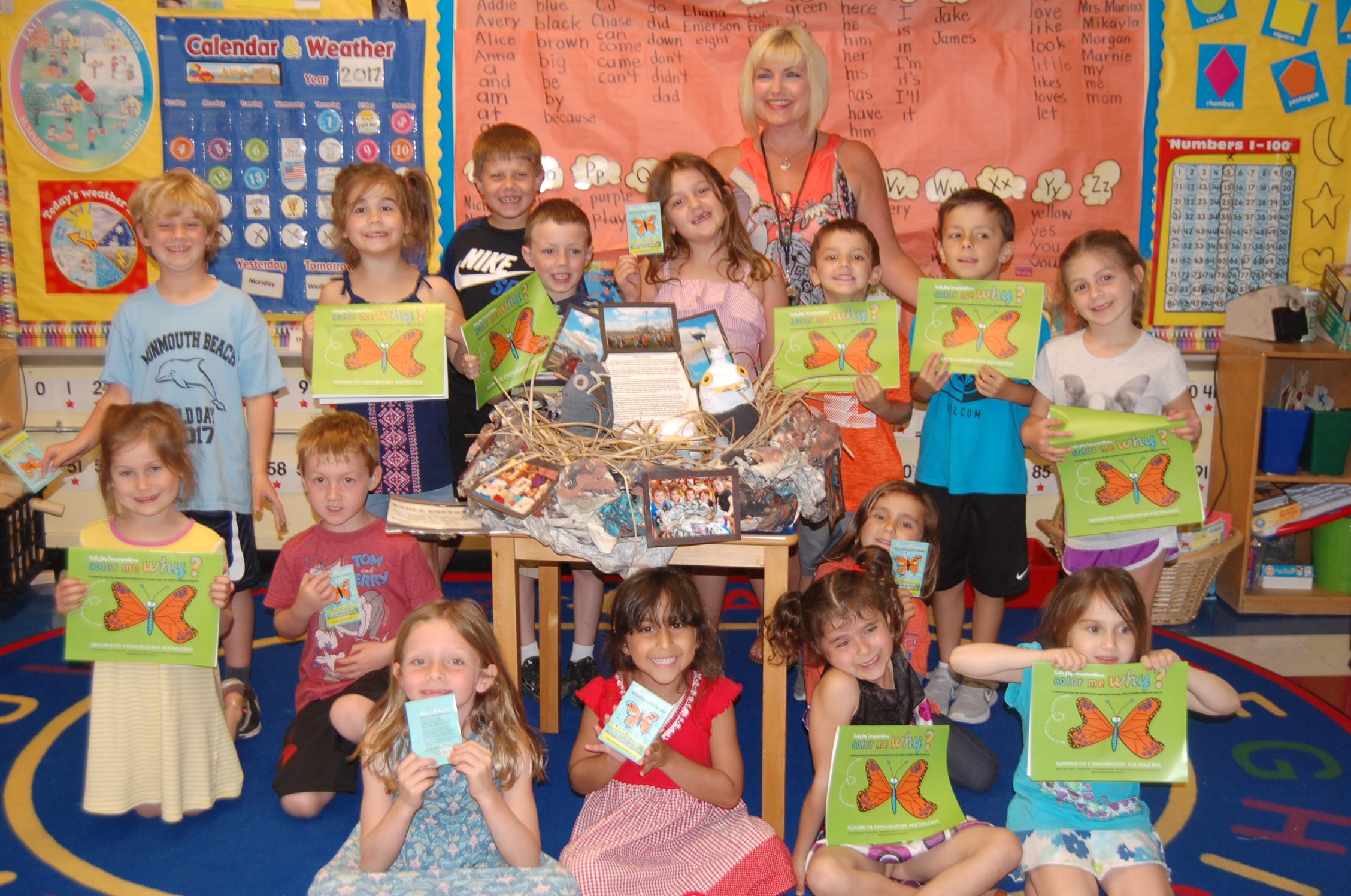 1st Prize Mrs. Marino's Kindergarten Class Monmouth Beach.JPG