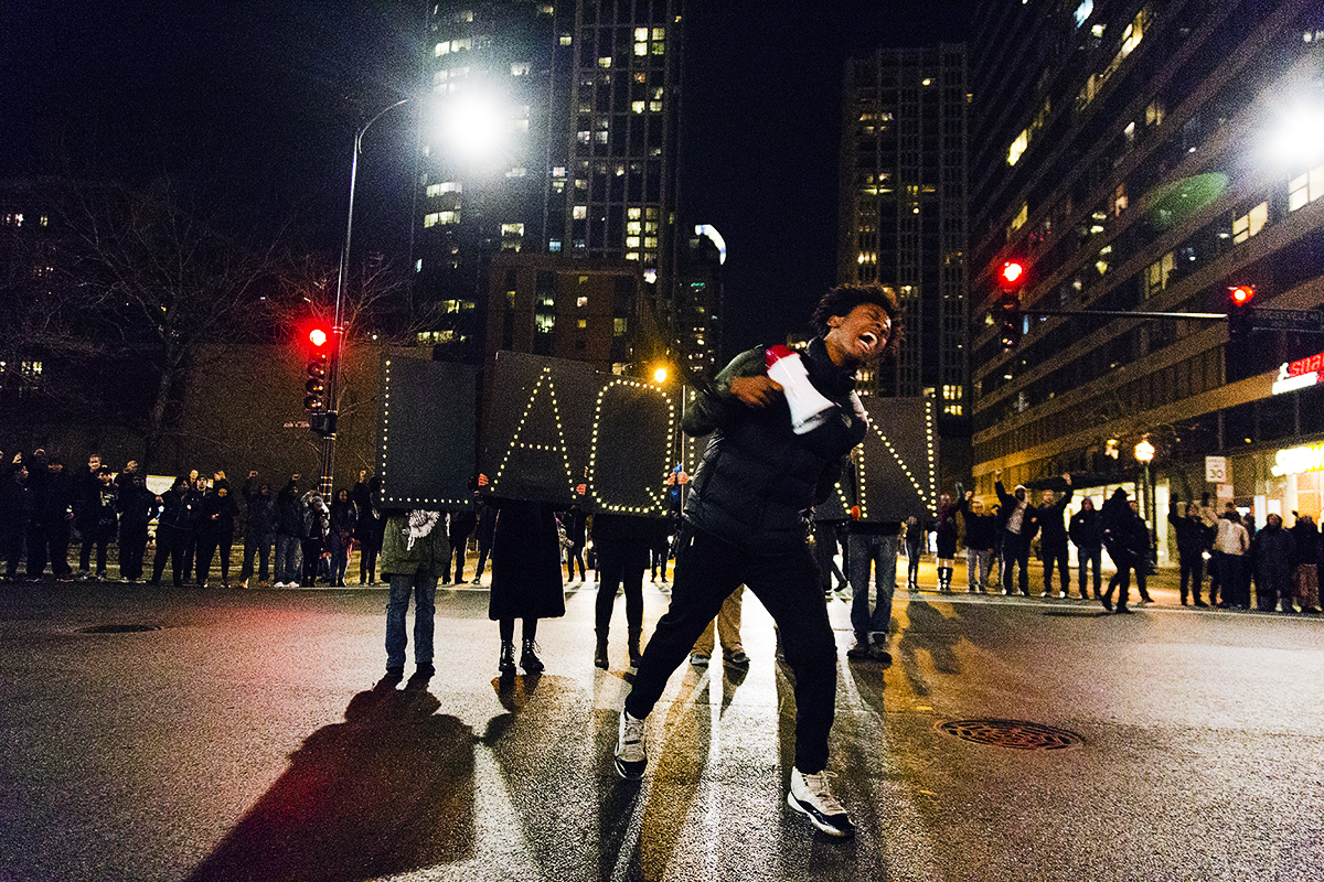 Laquan Macdonald Protest