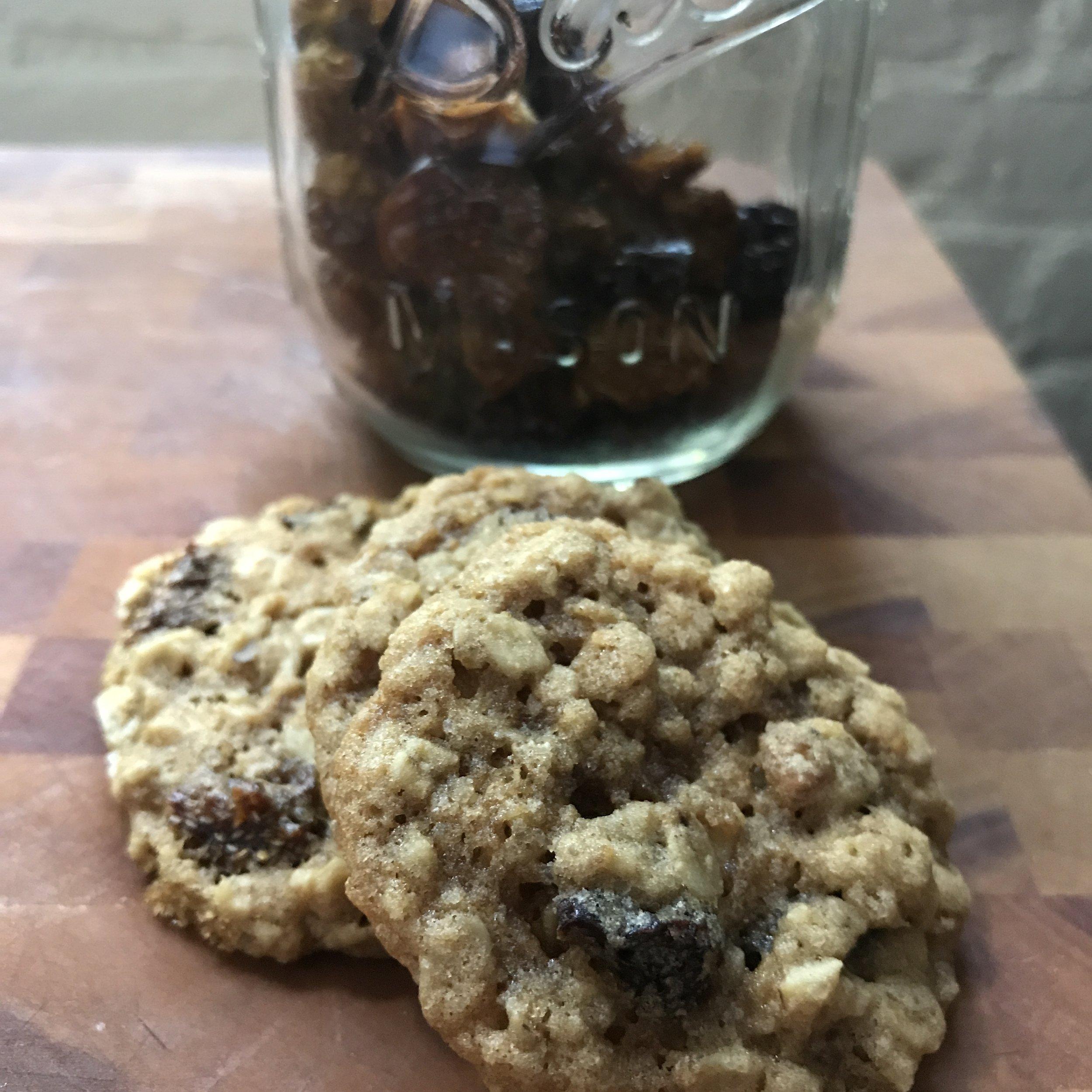Favorite oatmeal cookies