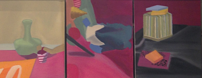 "Size:  20""x50""   Medium:  Oil on canvas  School:  Arcadia University, 2015"