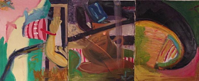 "Size: 24""x50""   Medium:  Oil on canvas  School:  Arcadia University, 2015"