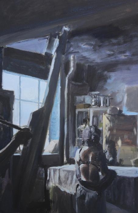 "Size: 35""X25""   Medium:  Oil on canvas  School:  Arcadia University, 2015"