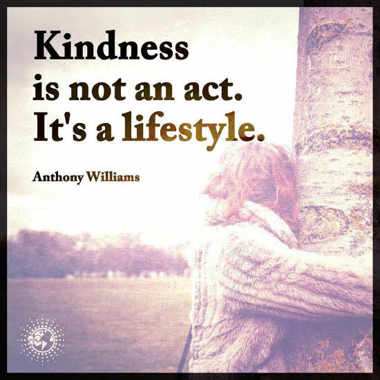 Kindness is a Lifestyle