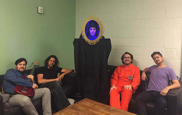 L to R: Jeff, Dan, Mirror, Roberto, & Jarret.