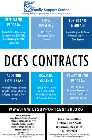 DCFS Specific Programs/Support -