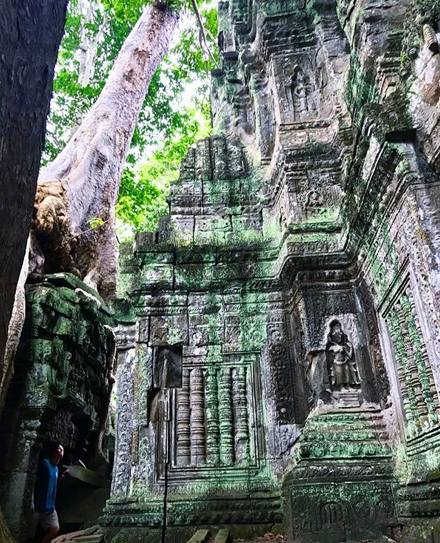 Spent the day temple running #TaProhm