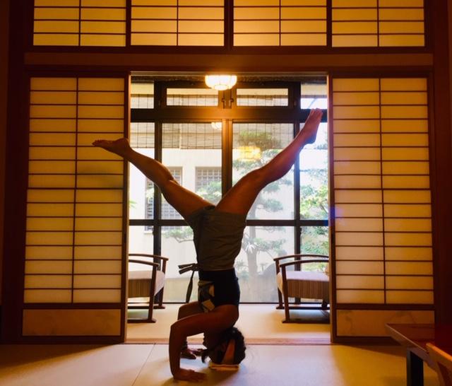 Kyoto ryokan balance
