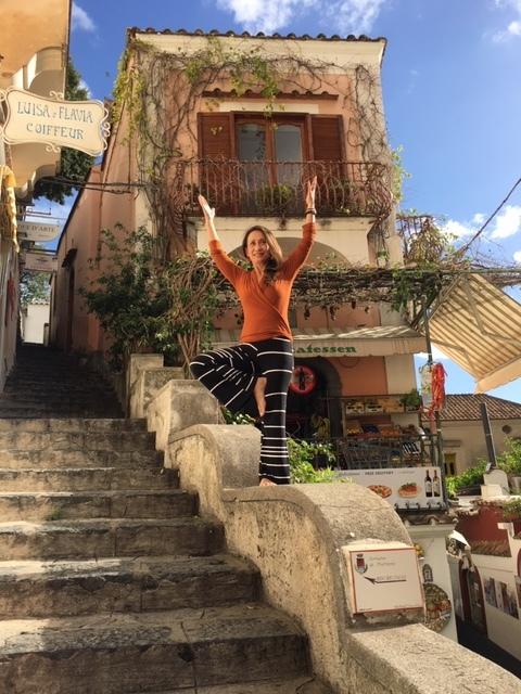 Positano Italy marketplace steps