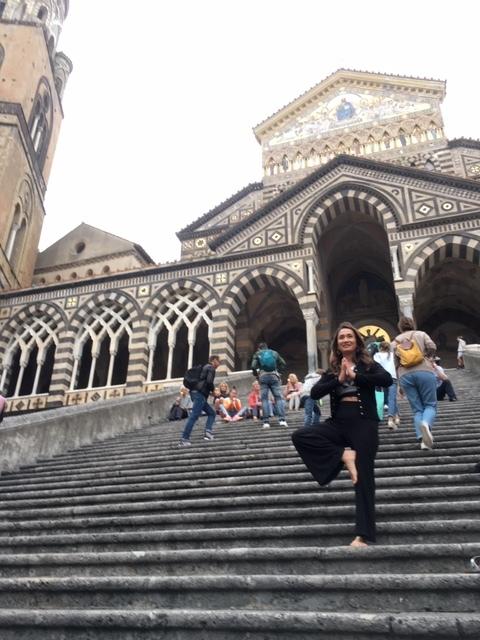 Amalfi Church steps