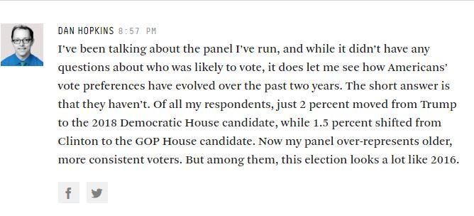 Dan Hopkins discussing his panel.