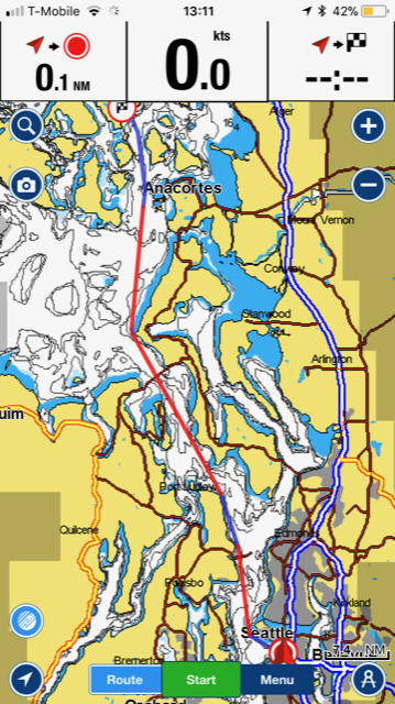 nautical charts app screenshot