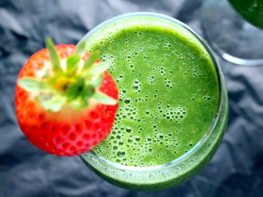 4.  Vegan Detox Green Monster Smoothie . Get the recipe  here .