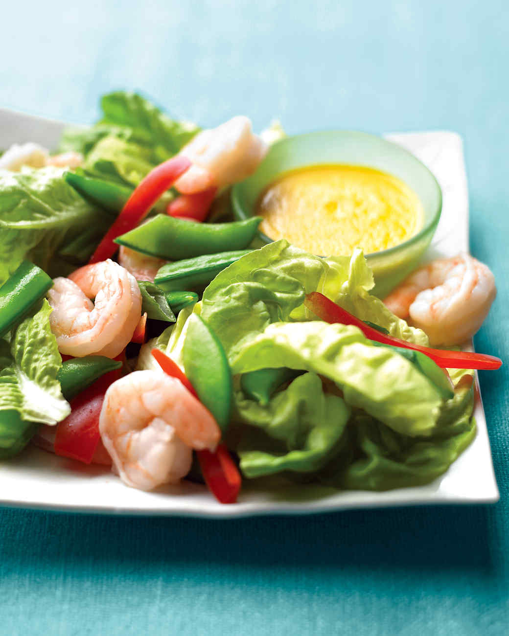 5.  Shrimp and Snap Pea Salad with Ginger . See recipe  here .