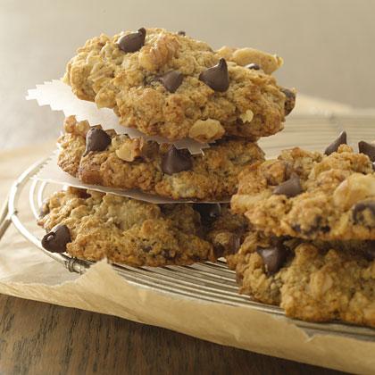 1. Banana Oatmeal Chocolate Chip Cookies. See recipe  here .