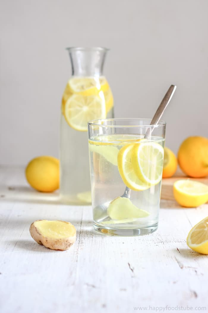 5.  Lemon Ginger Water.   See recipe here .