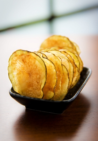 2. Fat-Free Potato Chips .  See recipe here .