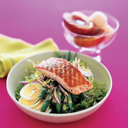 4.  Salmon Salad With Vinaigrette.  See recipe  here .