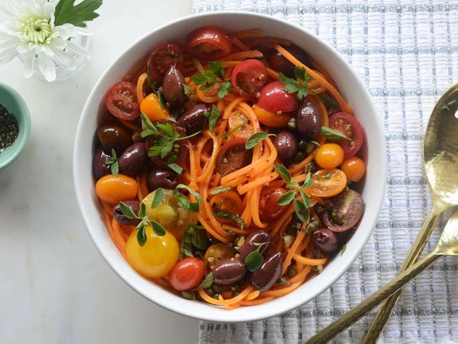 4. Sweet Potato Puttanesca.  See recipe  here .